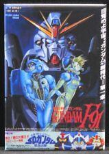 "Japanese Gundam F91 Movie Poster 2"" X 3"" Fridge Magnet."