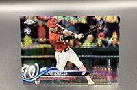 Victor Robles RC 2018 Topps Chrome Prizm Refractor #175 Nationals MLB