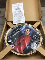 Vintage Scotty Star Trek 25th Anniversary Plate Hamilton Collection New