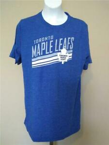 New Toronto Maple Leafs Youth Size L Large 14/16 Blue Shirt