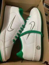 NIKE Court TRADITION II 2 Neu Gr:44 US:10 white weiss leder sneaker saku grün