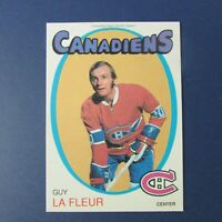 GUY LAFLEUR  1991 Replicards  1971-72  O-Pee-Chee  reprint  MONTREAL CANADIENS