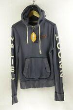 VINTAGE Mens HOLLISTER Hoodie URBAN SURFER SPORT Hooded FADED Sweater Medium P13