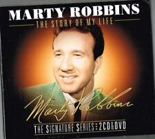 "MARTY ROBBINS New DVD (region 4) & 2 CD set ""THE STORY OF MY LIFE"" 74 tracks"