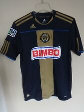 Adidas EUC MLS Philadelphia Union Soccer Jersey Major League Soccer Youth XL