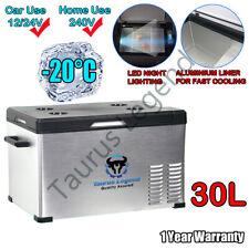 30L Portable Car Fridge 12V/24V/240V Car Caravan Bus Boat Rapid Cooling Freezer