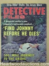"""Detective Files"" July 1974"