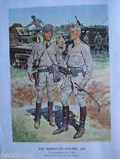 The American Soldier,1938 Cavalry Sergeant,General Chaffee  H. Charles McBarron