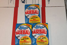 1986 Topps Baseball Packs!! Vintage unopened Lot.