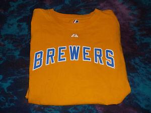 Milwaukee Brewers Ryan Braun Boys Medium Shirt