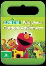 123 SESAME STREET WILD WORDS AND OUTDOOR ADVENTURES * NEW * ABC KIDS REG 4 -AUST