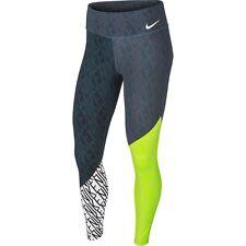 2017 Nike Wmns Power legendario mediados de subida de entrenamiento Impreso Calzas Talla XL Nuevo