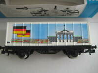 Marklin H0 4481-90736 Bradenburger Tor Box Car in original box -Ltd Edn in 1990