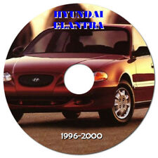 HYUNDAI ELANTRA / LANTRA 1996 - 2000 WORKSHOP MANUAL ON CD OR DOWNLOAD