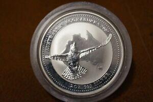 Australien 2 $ 2002 Kookaburra  2 oz 999 Silber