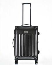 JEEP PREMIUM PLATEAU Hard Luggage LARGE CASE TSA expanding Lightweight GREY