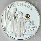 Canada 2012 Three Wise Men $20 Pure Silver & Swarovski Crystal Proof Coin