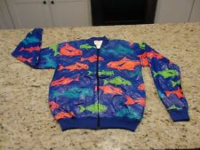 NEW!  Bob Chinn's Crab House FISH Tyvek Jacket Men's Size S Halloween Costume