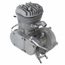 80cc 2 Stroke Silver Engine Motor for Motorized Bicycle Bike Engine only