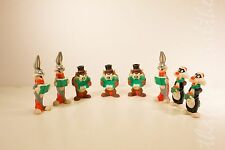 Looney Tunes Christmas Ornament (Lot of 8) Bugs Bunny, Tasmanian, and Sylvester