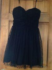 Juniors Teen Black Fancy Christmas Holiday Dress Delia's  NWT size 11-12