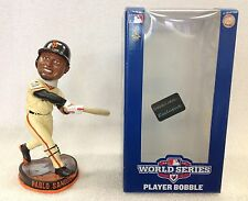 PABLO SANDOVAL FOREVER 3 HOMERUN BOBBLEHEAD BOBBLE WORLD SERIES 2012 #'D ON BASE