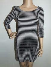 H&M Stripes Machine Washable Regular Size Dresses for Women