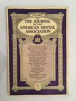 The Journal Of The American Dental Asociación Noviembre N º 11 1929