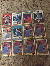 Mike Schmidt 12 Card Lot: 1983 Topps Donruss, 1987 Fleer, 2006 UD Run Producers