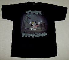 """ANIMANIACS """"DOTS POETRY CORNER"""" VINTAGE LICENSED WARNER BROTHERS STORE T-SHIRT"""