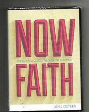 JOEL OSTEEN Now Faith (2000s, DVD, 2 CD) BRAND NEW: Expecting Good Things