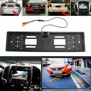 170° Car Rear View Reversing Camera Back Up Parking Number Plate Night Vision🚗