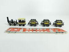 BB796-0,5# Bachmann H0/DC 00641 Zug-Set DeWitt Clinton: Lok + 3 Personenwagen