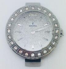 Cuarzo Damas Reloj de cristal de modelo F16645 Festina registrado ninguna Correa está en funcionamiento