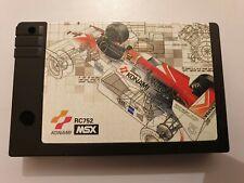 MSX F-1 SPIRIT The Way to Formula 1 solo cartucho NTSC/J muy buen estado LEER!