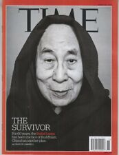 TIME Magazine DALAI LAMA FACE OF BUDDHISM The Survivor MARCH 18, 2019 No Label