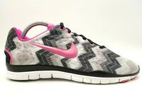 Nike Free 5.0 TR Fit 3 Multicolor Lace Up Athletic Sport Running Shoes Women's 9