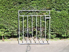 Wrought iron garden gate galvanized 3ft high for 3ft opening free fittings L/H