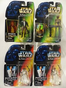 Star Wars action figure collection Princess Leia Organa Han Sol on Bespin EV-9D9