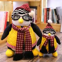 47/27CM Joey's Friend HUGSY Plush Penguin Stuffed Animals Toy Doll Xmas Gift