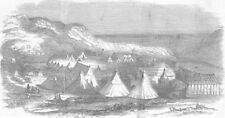 SOUTH AFRICA. 8th Xhosa War. Waterloo Bay-Fish River, antique print, 1851