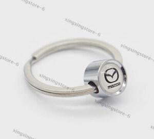 Car Accessories Keychain Keyring Ring Key Pendant Styling Logo For Mazda 3 5 6