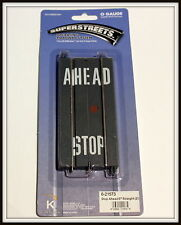 "discontinued kline by LIONEL SuperStreets 5"" Straight   Brand New  School road"