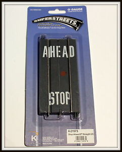 """discontinued kline by LIONEL SuperStreets 5"""" Straight Brand New School road"""
