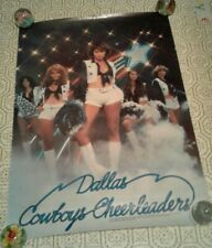 Vntg 1977 DALLAS COWBOYS Cheerleaders NFL Football Pin Up Girl Poster Cowgirls