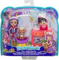 Enchantimals Caring Vet With Accessories Children Play Set BNIB Mattel Gift Idea