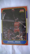 Carte de basketball de Michael Jordan rookie de 1986 super rare!