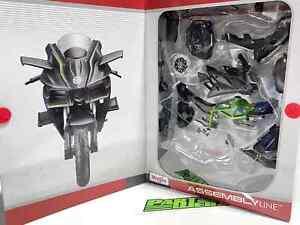 Kawasaki Ninja H2R Assembly Line Kit 1:12 Scale Model Kids Dad Fathers Gift