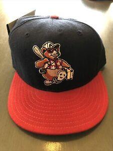 Vintage NEW 90s Asheville Tourists New Era Pro Model 100% Wool Hat Cap USA Made