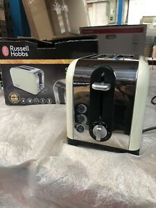 Russell Hobbs Canterbury Cream Toaster 22393
